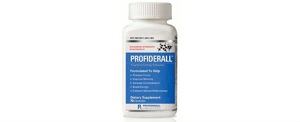 Profiderall Cognitive Energy Complex Review 615