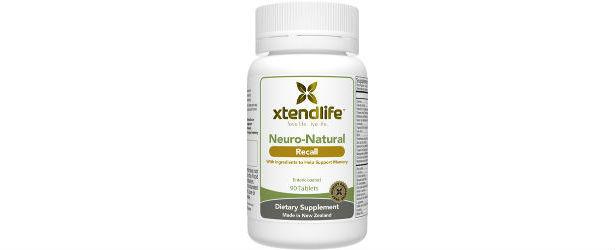 Xtendlife Neuro-Natural Recall Review